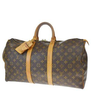 Authentic LOUIS VUITTON Keepall 45 Travel Hand Bag